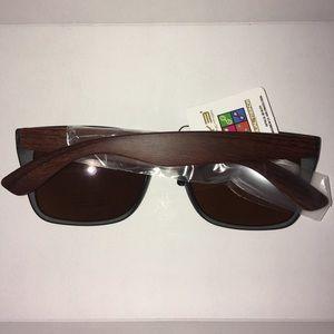 EYE Accessories - BNWT Matte Black Wood Sunglasses
